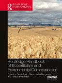 Pdf Routledge Handbook of Ecocriticism and Environmental Communication Telecharger