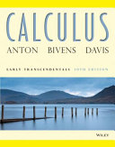 Calculus Early Transcendentals, 10th Edition