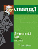 Emanuel Law Outlines for Environmental Law