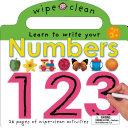 Wipe Clean Numbers Book PDF