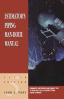 Estimator s Piping Man Hour Manual Book