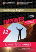 Cambridge English Empower Elementary Presentation Plus with Student's Book and Workbook