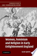 women feminism and religion in early enlightenment england   feminism and religion in early enlightenment england
