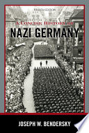 A Concise History Of Nazi Germany Book