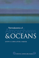 Thermodynamics of Atmospheres and Oceans