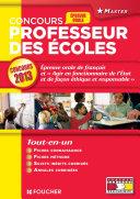 Epreuve Orale de français d'histoire-géographie et instruction civique et morale Concours 2013