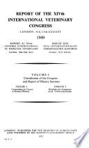 Fourteenth International Veterinary Congress, London, England, 1949...[Report]