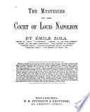 The Mysteries of the Court of Louis Napoleon Book