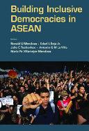 Building Inclusive Democracies In Asean Pdf/ePub eBook