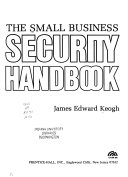 The Small Business Security Handbook Book