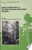 Forest Conservation in the East Usambara Mountains, Tanzania