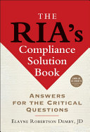 The RIA s Compliance Solution Book