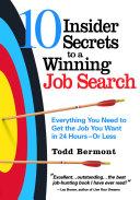 10 Insider Secrets to a Winning Job Search