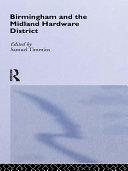 Birmingham and Midland Hardware District ebook