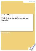 Triple Bottom Line im Accounting und Reporting