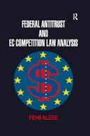 Federal Antitrust and EC Competition Law Analysis [Pdf/ePub] eBook