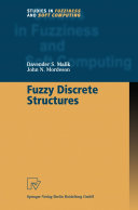 Fuzzy Discrete Structures