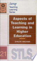 Aspects of teaching and learning in higher education