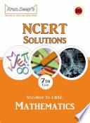 Self Help to NCERT Solutions Mathematics 7