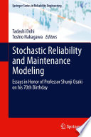 Stochastic Reliability and Maintenance Modeling Book
