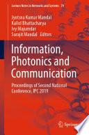 Information, Photonics and Communication