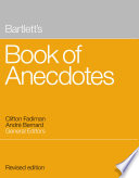 """Bartlett's Book of Anecdotes"" by Andre Bernard, Clifton Fadiman"