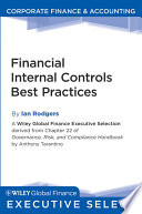 Financial Internal Controls Best Practices Book