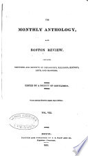 The Monthly Anthology  and Boston Review