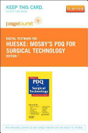 Mosby S Pdq For Surgical Technology