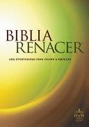 Biblia Renacer RVR 1960   The Life Recovery Bible Book PDF