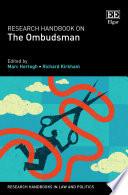 Research Handbook on the Ombudsman