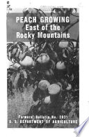 Peach Growing East of the Rocky Mountains Book