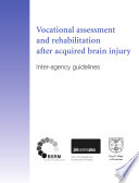 Vocational Assessment And Rehabilitation After Acquired Brain Injury Book PDF