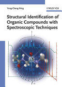 Structural Identification Of Organic Compounds With Spectroscopic Techniques Book PDF