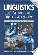 Linguistics Of American Sign Language Book
