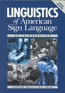 Linguistics of American Sign Language
