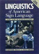 Linguistics of American Sign Language