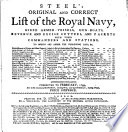 Steel S Original And Correct List Of The Royal Navy