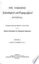 The Yorkshire Archaeological And Topographical Journal