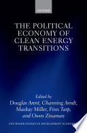 Cover image of The political economy of clean energy transitions