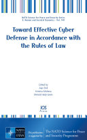 Toward Effective Cyber Defense in Accordance with the Rules of Law ebook