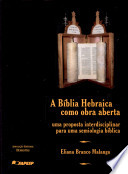 A bíblia Hebraica como obra aberta