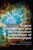 Enjeux contemporains de l'éducation scientifique et technologique ebook