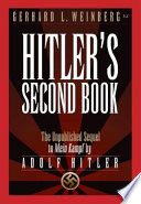 Hitler s Second Book Book