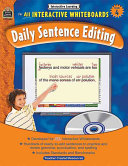 Interactive Learning: Daily Sentence Editing, Grade 4