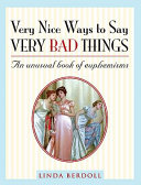 Pdf Very Nice Ways to Say Very Bad Things Telecharger
