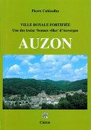 Pdf Auzon, Ville royale fortifiée Telecharger