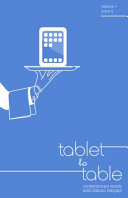 Tablet to Table Vol 1