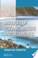 Analysis of Oceanic Waters and Sediments Book