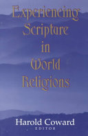 Experiencing Scripture in World Religions
